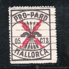 Sellos: ,,LOCAL NACIONALISTA MALLORCA 432A USADA, 5 CTS. PRO PARO . Lote 28906067