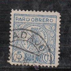 Sellos: ,,LOCAL NACIONALISTA BADAJOZ 108A USADA CORREOS, PARO OBRERO, . Lote 29189741