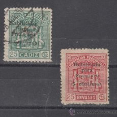 Sellos: ,,LOCAL NACIONALISTA CADIZ 171/2A USADA, SOBRECARGADO -HABILITADO PARA FRANQUEO 5 CENTIMOS- . Lote 29115396