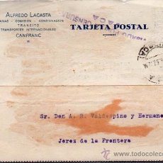 Sellos: CENSURA MILITAR, JACA, JEREZ DE LA FRONTERA. Lote 29209343