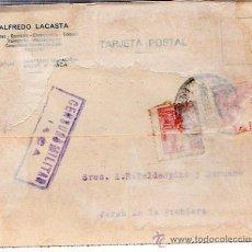 Sellos: CENSURA MILITAR, JEREZ DE LA FRONTERA. Lote 29209399