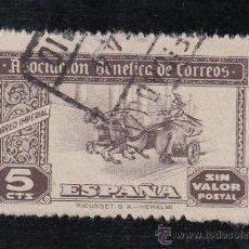 Sellos: ,,BENEFICENCIA ASOCIACION BENEFICA CORREOS 89 USADA, CATALOGO GALVEZ, CORREO IMPERIAL. Lote 29650076
