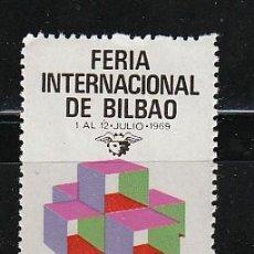 Sellos: FERIA INTERNACIONAL DE BILBAO. Lote 29329263