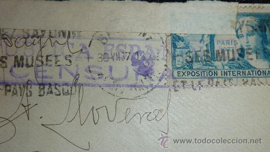 Sellos: Lote 21 sobres de paises extranjeros a españa durante la guerra civil. censuras, por avion, raros! - Foto 5 - 29354046