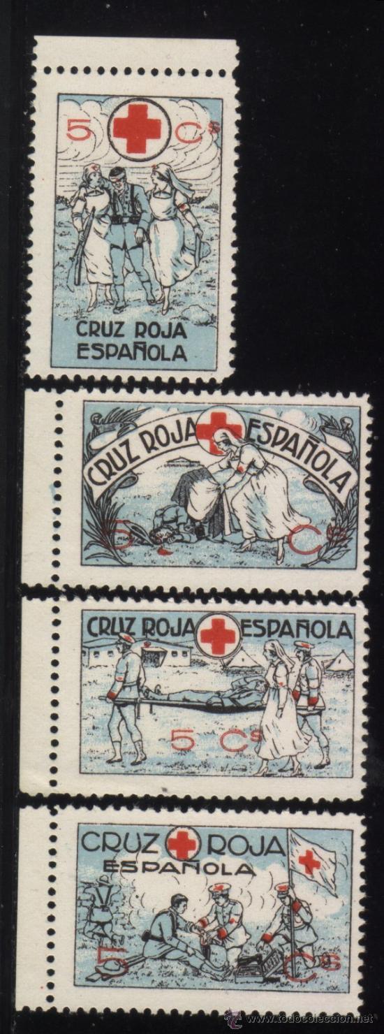 S-2903- CRUZ ROJA ESPAÑOLA (Sellos - España - Guerra Civil - Viñetas - Nuevos)