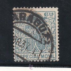 Sellos: ,,FISCAL TIMBRE ESPECIAL MOVIL 33 USADA CORREOS, 25 CTS. AZUL . Lote 30265917