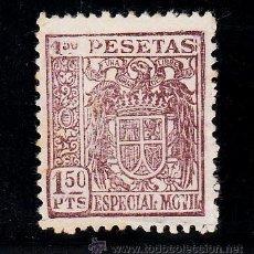 Sellos: ,,FISCAL 383 ESPECIAL MOVIL 1939-55 CATALOGO GALVEZ 60 SIN GOMA 1.50 PTAS.. Lote 51527951