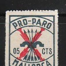 Sellos: PRO-PARO. 05 CTS. MALLORCA. Lote 29446594