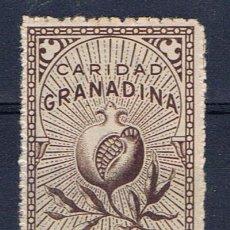 Sellos: CARIDAD GRANADINA 5 CTS NUEVO(*) GRANADA. Lote 29672574