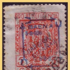 Sellos: BAENA (CÓRDOBA), GUERRA CIVIL, FESOFI Nº 4 (O). Lote 29817245