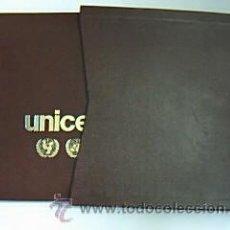 Sellos: BANDERAS DE LAS NACIONES UNIDAS. PROGRAMA DE SELLOS DE BANDERAS DEL UNICEF. Lote 29380521