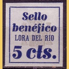 Briefmarken - Sevilla LORA DEL RIO, Guerra Civil, FESOFI nº 1s * - 30027750