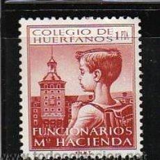Sellos: COLEGIO DE HUERFANOS FUNCIONARIOS Mº HACIENDA. 1 PTA.. Lote 30226039