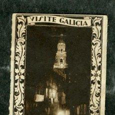 Sellos: SELLO VIÑETA **SANTIAGO DE COMPOSTELA VISITE GALICIA** (VER SELLOS GUERRA CIVIL Y LOCALES EN VENTA). Lote 30256364
