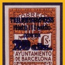 Sellos: BARCELONA TELÉGRAFOS 1937