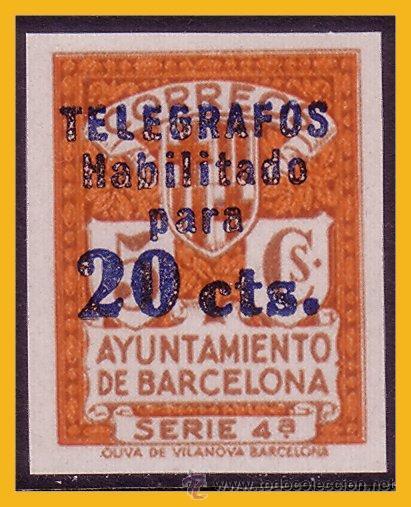 BARCELONA TELÉGRAFOS 1937