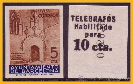 BARCELONA TELÉGRAFOS 1936