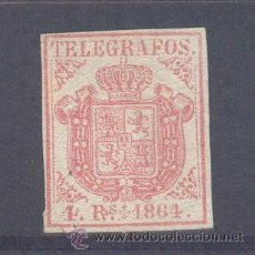 Sellos: TELEGRAFOS. EDIFIL TL 2 (*). Lote 30377272