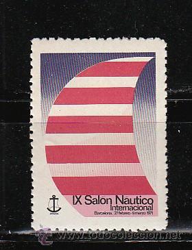 IX SALON NAUTICO INTERNACIONAL (Sellos - España - Guerra Civil - Viñetas - Nuevos)