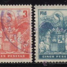 Sellos: S-4466- FISCAL. DOS SELLOS FICALES. SIN F.N.M.T.. Lote 30653253