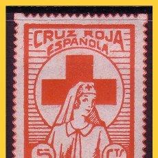 Sellos: CRUZ ROJA ESPAÑOLA, GUERRA CIVIL, FESOFI Nº 1660 *. Lote 30779238