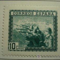 Selos: 10 CENTIMOS EN HONOR DEL EJERCITO Y LA MARINA NUEVO CON GOMA Y CHARNEL AÑO 1938A. Lote 30875632