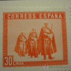 Selos: 30 CENTIMOS EN HONOR DEL EJERCITO Y LA MARINA NUEVO CON GOMA Y CHARNEL AÑO 1938A. Lote 30875657