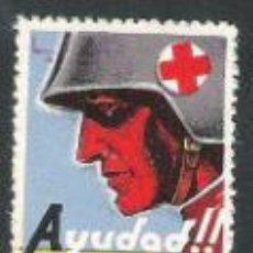 Sellos: 678-GUERRA CIVIL GUERRA CIVIL AYUDA,ASISTE HERIDOS** REPUBLICA .RED CROSS.. Lote 31321288
