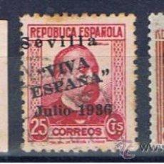 Briefmarken - sevilla 1936 edifil 18-19-24 viva españa - 31345301