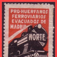 Sellos: PRO REFUGIADOS, GUERRA CIVIL, GUILLAMÓN 2554 ( *) . Lote 31363617