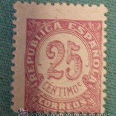 Sellos: SELLO DE 25 CTS, REPÚBLICA. Lote 31696726