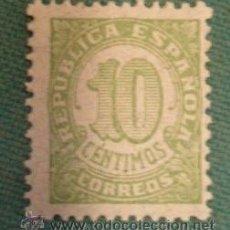 Sellos: SELLO DE CORREOS, DE 10 CTS, REPÚBLICA. Lote 31707198