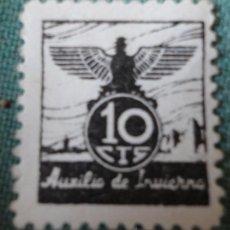Sellos: VIÑETA AUXILIO SOCIAL DE INVIERNO, 10 CTS. Lote 31719975