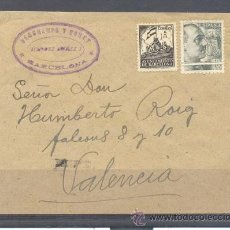 Sellos: BARCELONA A VALENCIA. Lote 31792627
