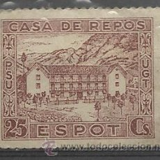 Sellos: .CASA DE REPÒS ESPOT. UGT-PSU, 25 CTS.. Lote 31801946
