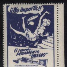 Sellos: S-4907- EL REMEDIO PEGAMENTO IMEDIO . Lote 32042534