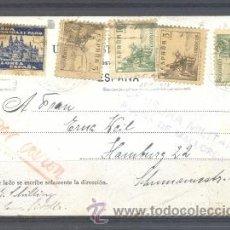 Sellos: 1938.- PALMA DE MALLORCA A ALEMANIA. Lote 32130119