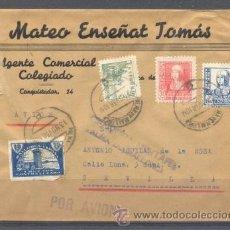 Sellos: 1938.- PALMA DE MALLORCA A SEVILLA. Lote 32130417