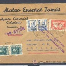 Sellos: 1938.- PALMA DE MALLORCA A SEVILLA. Lote 32215526