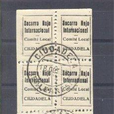 Francobolli: CIUDADELA (BALEARES). Lote 32409610