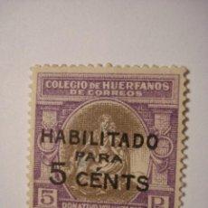 Sellos: SELLO VIÑETA BENEFICENCIA HUERFANOS DE CORREOS - COMPARA PRECIOS. Lote 32425862