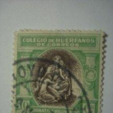 Sellos: SELLO VIÑETA BENEFICENCIA HUERFANOS DE CORREOS 10 CTMOS - COMPARA PRECIOS. Lote 32425867