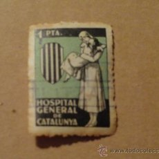 Sellos: VIÑETA HOSPITAL GENERAL DE CATALUNYA. Lote 32830037