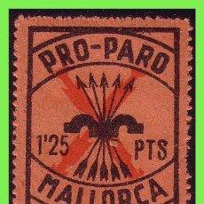 Sellos: BALEARES, MALLORCA GUERRA CIVIL -SELLOS LOCALES-, FESOFI Nº 28 * *. Lote 32958853