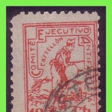 Sellos: CASTELLÓN CASTELLÓN (SELLOS LOCALES GUERRA CIVIL), FESOFI Nº 3 (O). Lote 33127448