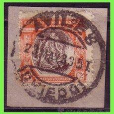 Sellos: BENEFICENCIA HUÉRFANOS DE CORREOS 1930 ALEGORÍA, EDIFIL Nº B9 (O) AVILÉS P.ASTURIAS. Lote 33169013