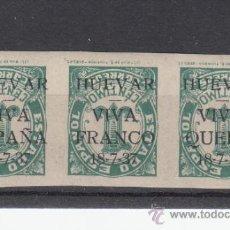Sellos: ,,PATRIOTICO HUEVAR 44HI SOBRECARGA INVERTIDAD SIN CHARNELA, . Lote 33214956