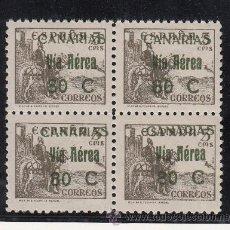Sellos: ,,CANARIAS 45 EN B4 SIN CHARNELA, . Lote 33433580