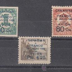 Sellos: ,,CANARIAS 11/3 SIN GOMA, . Lote 33434170