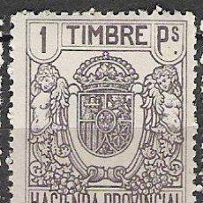 Sellos: 3361-FISCAL HACIENDA PROVINCIAL 1926.1 PT 5,00€.GOMA ORIGINAL SELLOS FISCALES CLAVES HACIENDA PR. Lote 33563025